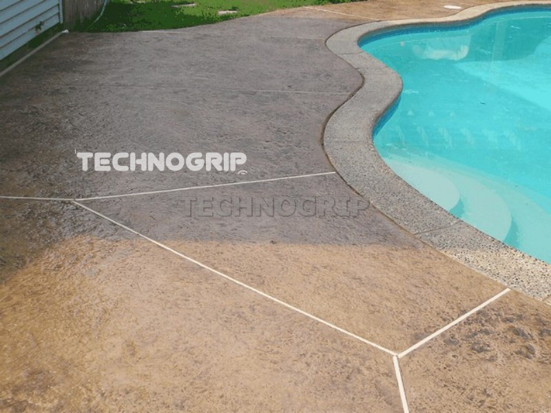 Resina epoxi antideslizante technogrip - Suelo exterior antideslizante ...
